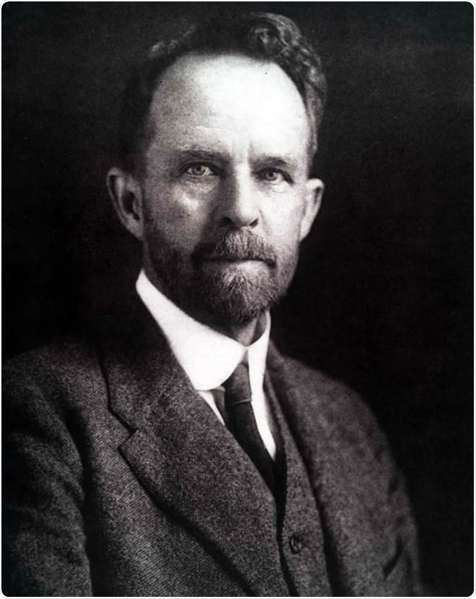 Geneticist Thomas Hunt Morgan