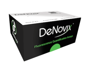 DeNovix's dsDNA Fluorescence Quantification Assays